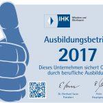 IHK 2017 Ausbildungsbetrieb