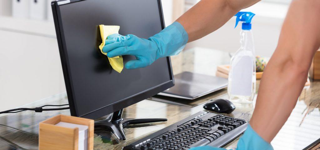 Notebook und PC-Reinigung