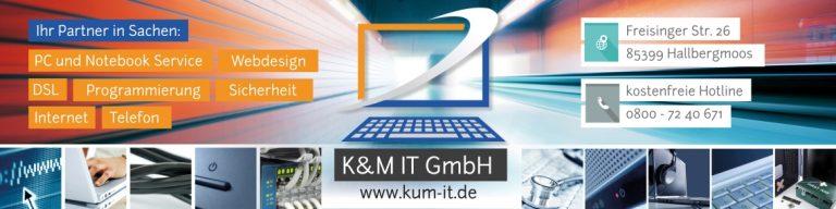 Relaunch K&M IT GmbH Webseite