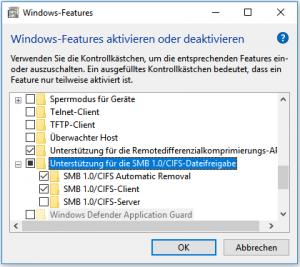 SMB Dateifreigabe